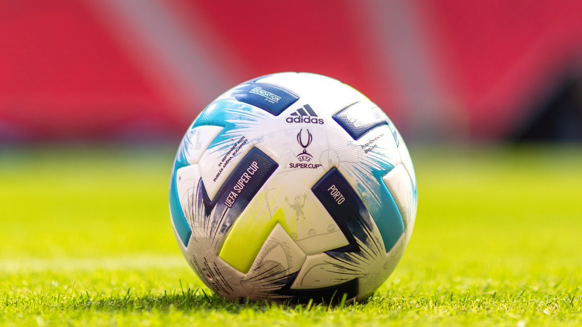 🎨 This year, the @UEFA_Foundation invited children from across Europe to design the #SuperCup match ball.  ⚽ 18 winners had their drawings feature on the ball when Bayern met Sevilla in Budapest on 24 September - what a brilliant job they did!