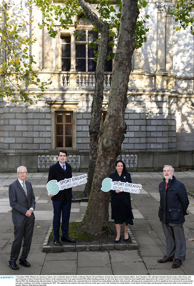 """In November we announced an unprecedented €85 million in funding to support the sector and today's announcement will further bolster attempts to protect the sector and provide some financial stability""  Minister Catherine Martin, @cathmartingreen  https://t.co/FOjUhMgoqz https://t.co/XI7itZOTV2"