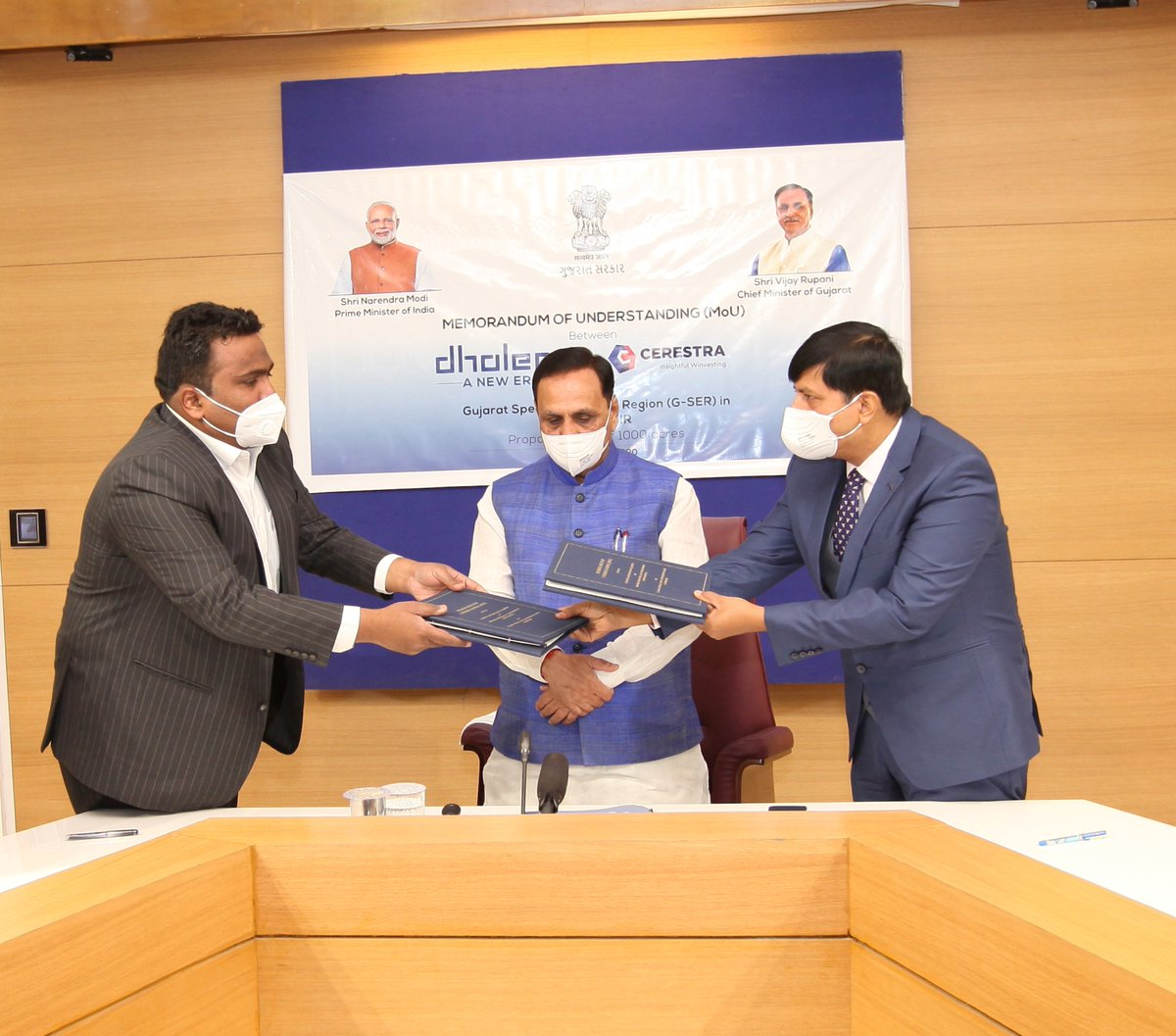 MoU signed for Dholera G-SER with Cerestra Group