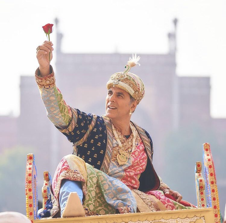 Akshay Kumar at set of AtaragiRe #AkshayKuamr #AtrangiRe #HBDSuperstarRajinikanth #HappyBirthdayRajinikanth #HBDSidharthShukla #Bollywood