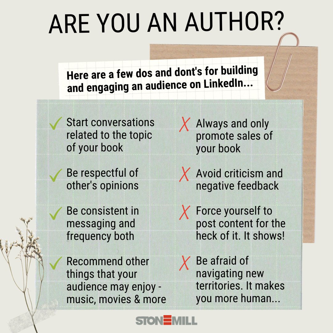 Believe it or not, LinkedIn is a great tool for #authors.Join a community, publish an article, get prompts or share your Goodreads reviews!  Being an author is a fun ride with the right resources. Here are some Dos & Don'ts to re-start your LinkedIn journey!  #books #writers