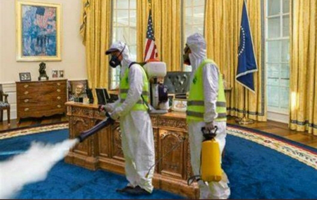 Only 2 days left before the White House is fumigated.  #MondayThoughts #MondayMorning #AfterTrump
