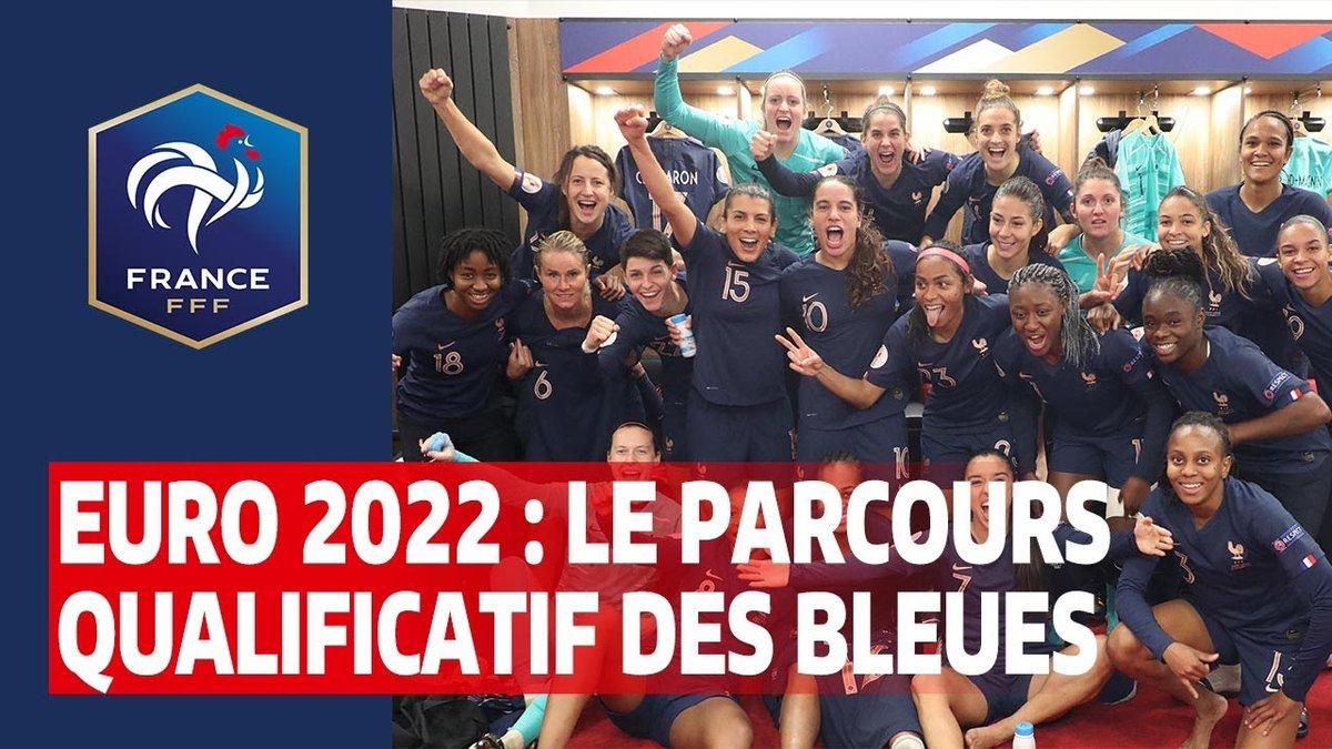 Débuté en 2019 au Kazakhstan, le parcours de 8 matches éliminatoires à l'Euro 2022 Féminin s'est achevé le 1er décembre à Vannes. Retrouvez les temps forts de cette qualification pour la phase finale, programmée à l'été 2022 en Angleterre #FiersdetreBleues