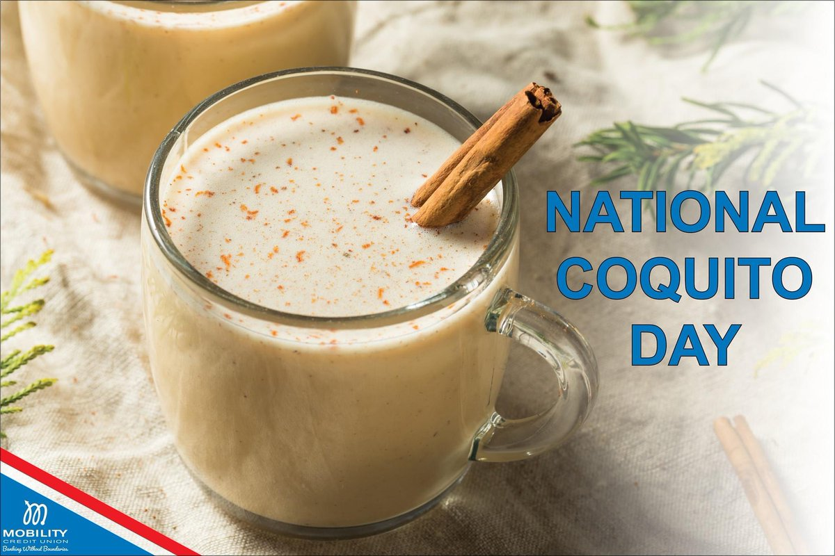 Coquito, often compared to eggnog, is a traditional Puerto Rican holiday drink, which embodies the island's warm and open spirit. Visit your favorite Puerto Rican restaurant, and enjoy this delicious beverage! 🌲🇵🇷🇵🇷🇵🇷  #NationalCoquitoDay #PuertoRican #Christmas