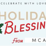 Image for the Tweet beginning: Holiday blessings from MCAP!