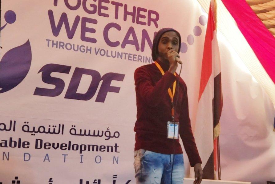 مشاركتي في فعالية #اليوم_الدولي_للمتطوعين التي اقيمت في مؤسسة التنمية المستدامة