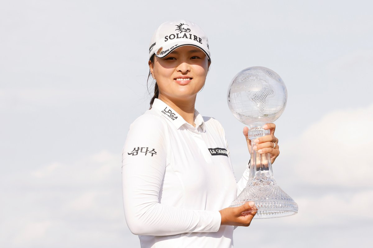 A huge congrats to Jin Young Ko on her win in Naples. Atlanta Athletic Club is just around the corner. 😎  #KPMGWomensPGA   @CMEGroupLPGA