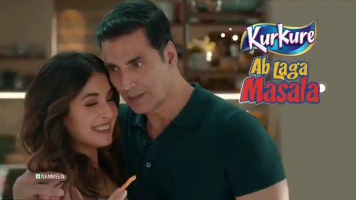 @akshaykumar @KurkureSnacks @akshaykumar❤@akshaykumar❤ #MondayMotivation😘😍😘😍😘😍#mondaythoughts 😍😘😍😘😍😘 #StayHomeStaySafe #StayHome #IndiaFightsCorona #coronavirus👍 #AbLagaMasala #Kurkure🤙✌🤘🤞 #KurkureSnacks 👌👏👌👏👌👏👌 Wow....How Sweet 🤗😍🤗😍🤗😍 Love you Both. ❤❤❤❤❤❤❤