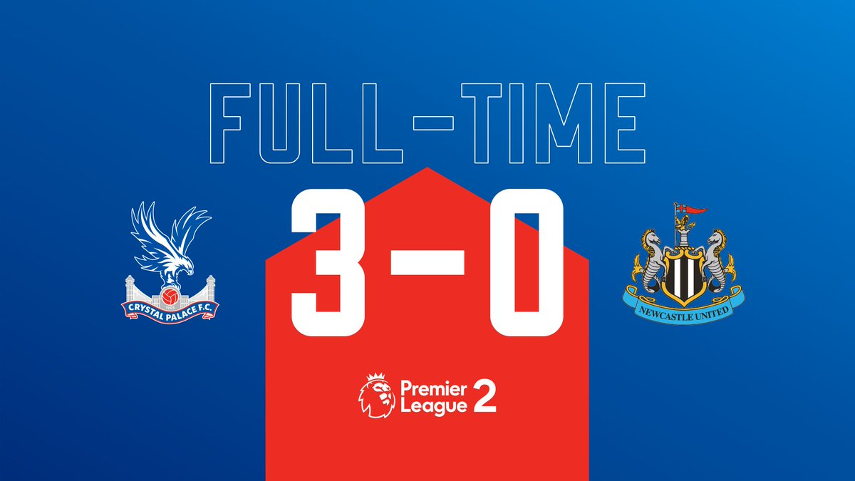 Replying to @CPFC: A convincing win for our U23s 👊  #CPFC  