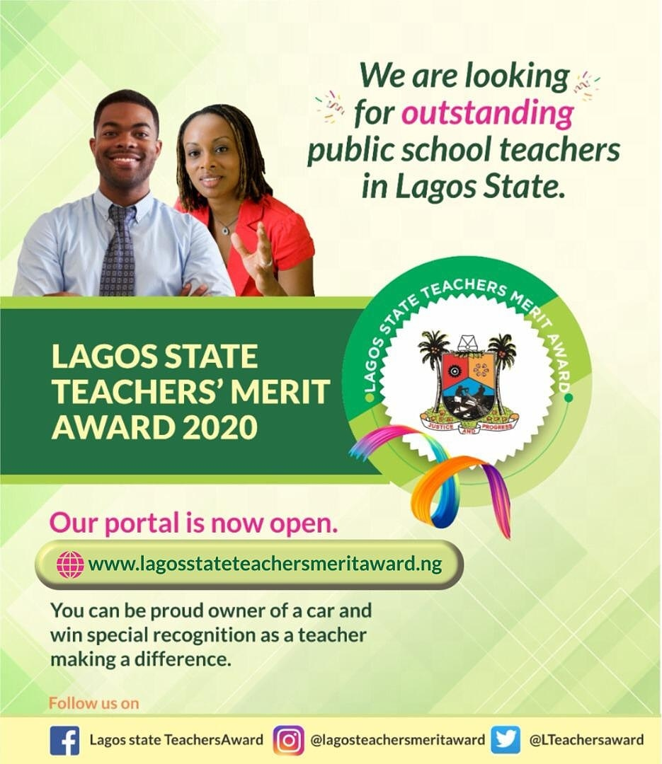How to Apply for the Lagos State Teachers' Merit Award 2021