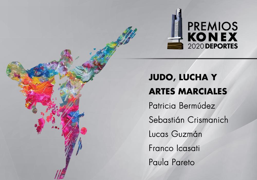 Los mejores de la década en la disciplina #Judo, #Lucha y #ArtesMarciales, ganadores del #PremiosKonex, son:  🔹Patricia Bermúdez 🔹@seba_tkd 🔹Lucas Guzman 🔹@IcasatiKarate 🔹Paula Pareto  Acá el listado completo de premiados👇   #mma #taekwondo #karate