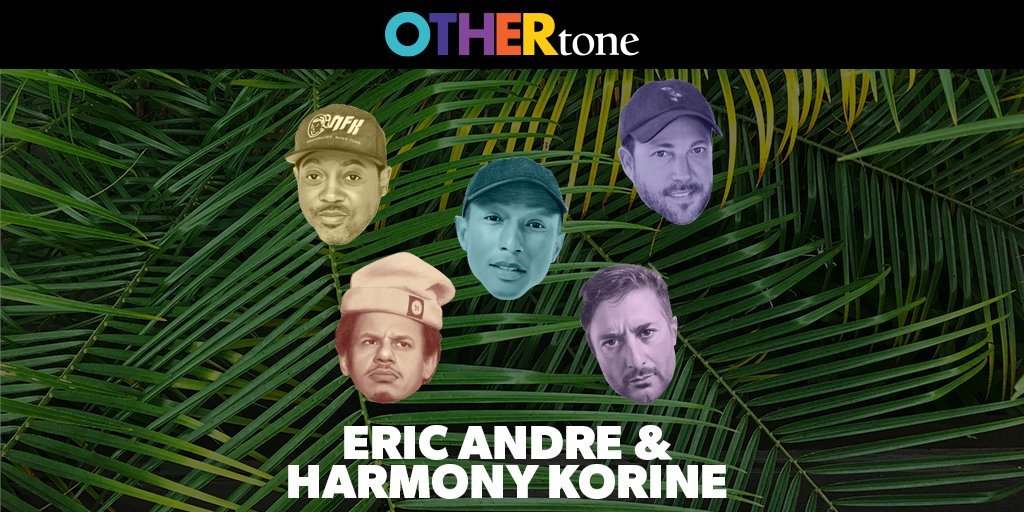 It's not that Monday's suck, it's just you're not subscribed to #OTHERtone...yet. New episode w/ @ericandre & #harmonykorine is LIVE. Be. Ready. To. Laugh. 🤣🤣🤣  After you listen, come back and tell us what you think!  Listen, Subscribe + 🤣 :