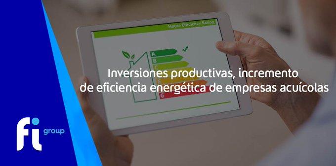 ¡#Galicia!Se ha publicado  productivas, incremento de  de empresas acuícolas.💶 11.560.000 �....