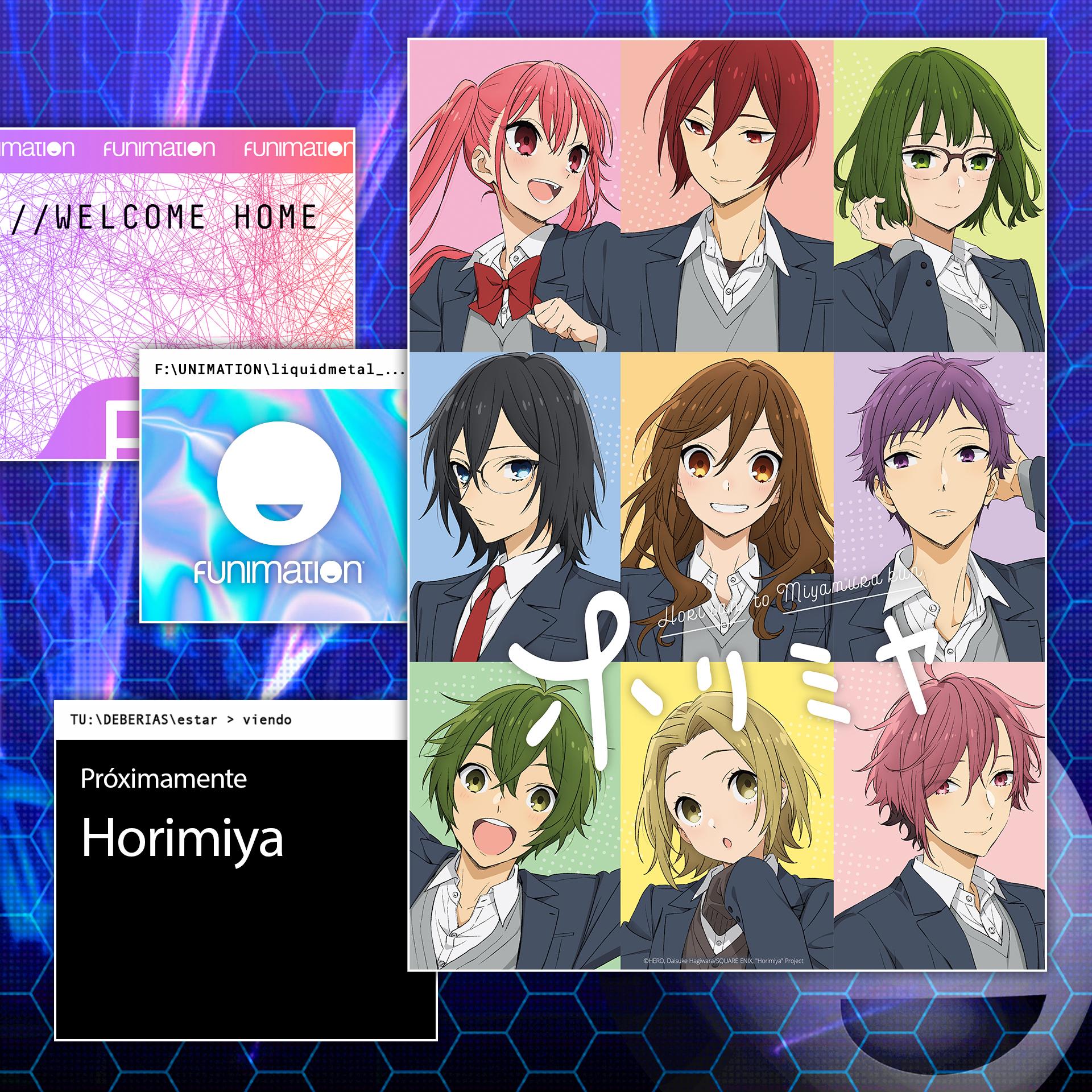 Funimation México - Horimiya