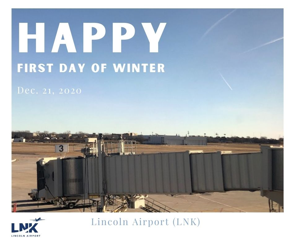 Blue skies and highs over 50 degrees for the official start of ❄️WINTER❄️  #LNK will enjoy these temps on the shortest day of the year!   #FlyLNK #FlyLocal #FirstDayofWinter