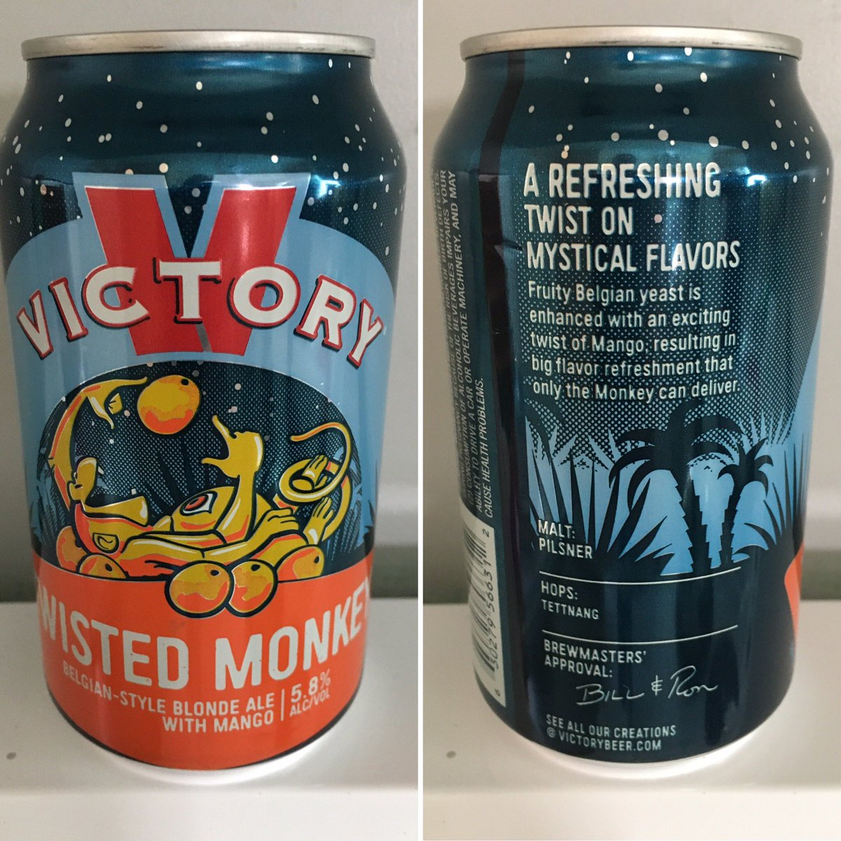 @VictoryBeer Twisted Monkey #canmuseum