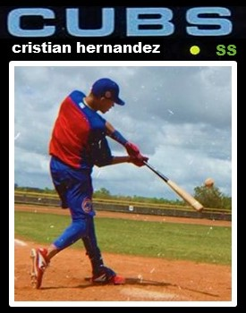 It Is IFA Day! Cubs Sign Ten Guys Including Cristian Hernandez