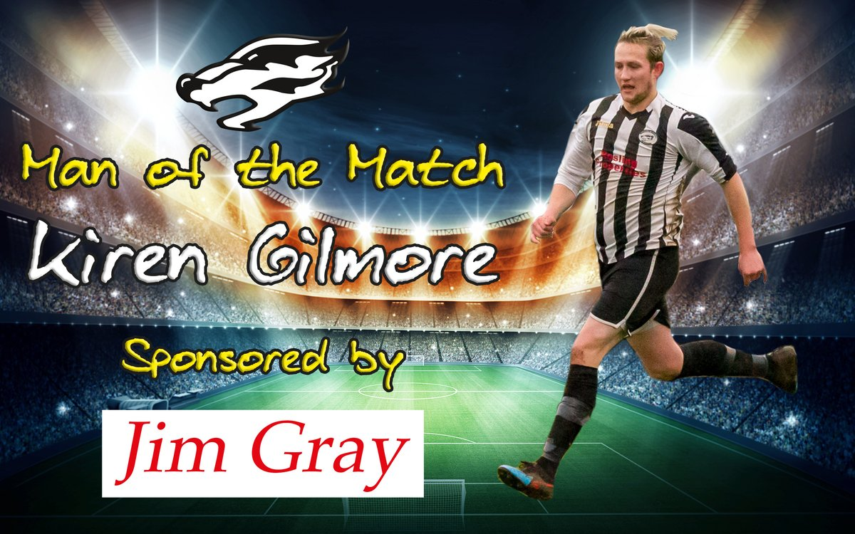 It seems that getting a better haircut has been the catalyst for Kiren Gilmore to put in solid performances on the pitch! 💇♂️  For the second game in a row, Kiren has won the MOTM award after a great shift defensively & offensively.   Well played, KG. Keep the current haircut 🦡