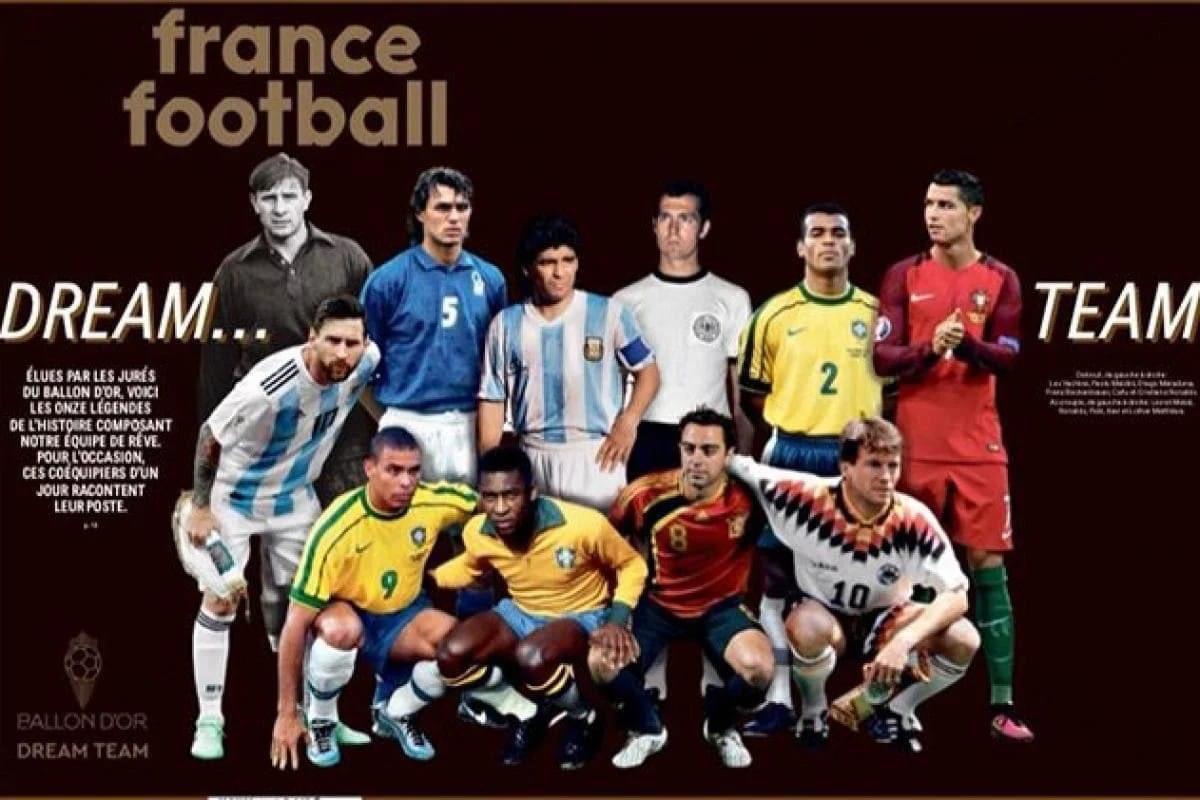 Pas de Cruyff, ni Ronaldinho, ni Zidane... mais bon... En fait choisir de faire une équipe formée de joueurs de différentes époques n'a vraiment pas de sens... #Fifa #football #BOdreamteam