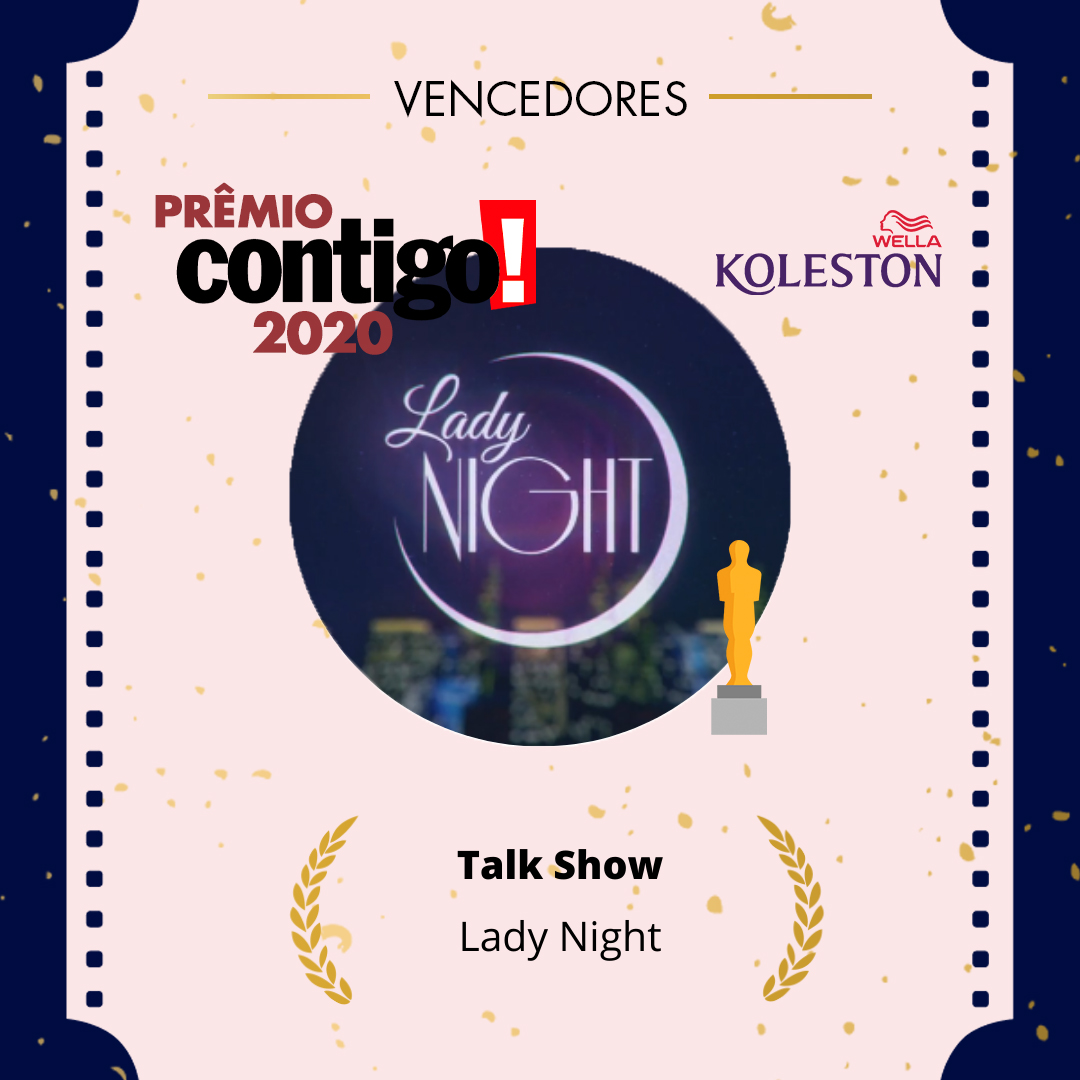 """Apresentado por @Tatawerneck, o """"Lady Night"""" é o melhor Talk Show do ano no #PremioCONTIGO2020  @wellabr #Paixaoporcabelos #KolestonNoitesIluminadas"""