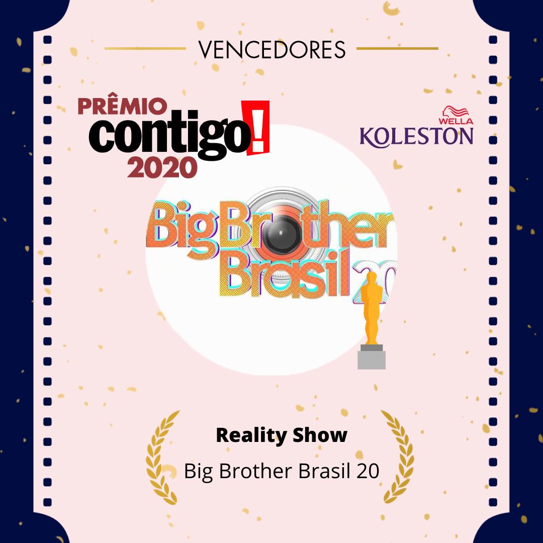 O prêmio de melhor Reality Show no #PremioCONTIGO2020 foi para o @bbb  @wellabr #Paixaoporcabelos #KolestonNoitesIluminadas