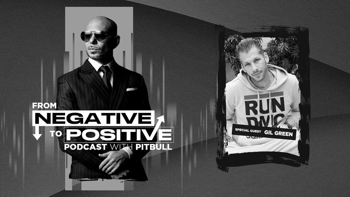 "#NEWS The brand new @Pitbull's Podcast ""From Negative to Positive"" featuring @GilGreen305 is now also AVAILABLE on YouTube! #FromNegativeToPositive #MrWorldwide #Pitbull ⠀⠀⠀⠀⠀⠀⠀⠀⠀ Watch it here:"
