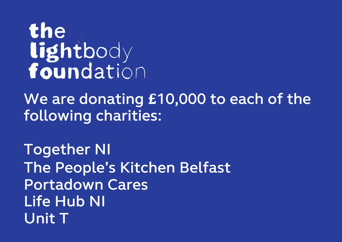 These 5 charities supply food, support and aid to people in dire need all over NI, the demand for which has soared this year. They are helping bring people in our wee country a sense of normalcy and kindness this Christmas. Thanks to all these charities for the work they do. gL
