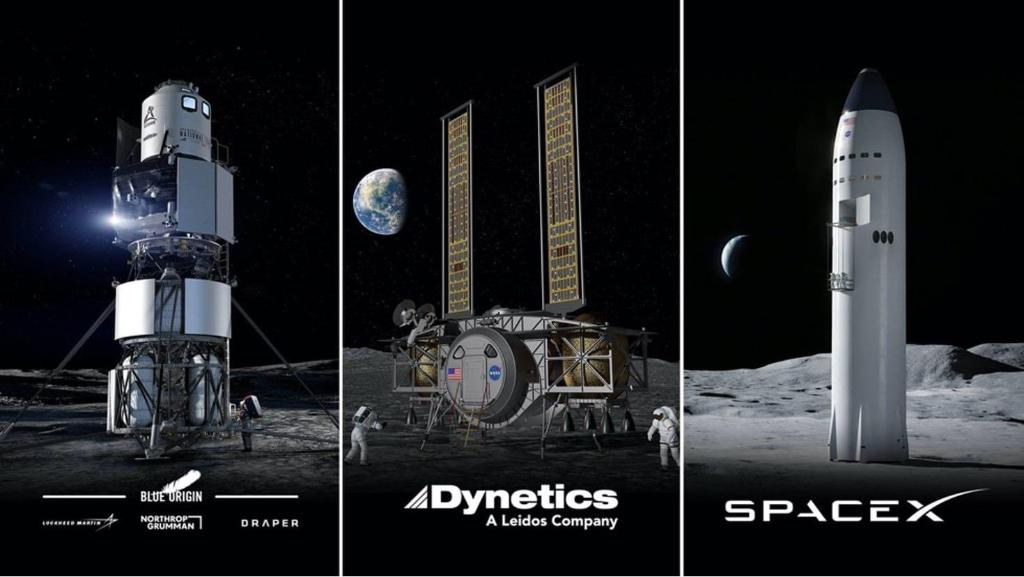 Last week, @NASA's Human Landing System Program conducted continuation reviews with our commercial partners – a key milestone for the #Artemis program. The system will take astronauts to the lunar surface in the Artemis lunar exploration program.