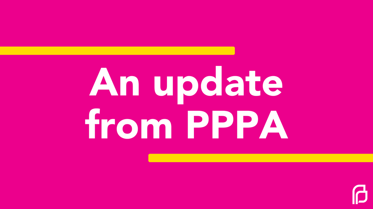 👉 AN UPDATE FROM PPPA 👈  PPPA's social pages have been quiet the past few weeks, and we wanted to share an important update from the organization. #THREAD