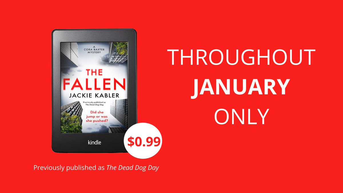 Happy Wednesday! Need a mid-week treat? If youre based in the US, you can grab a copy of @jackiekablers THE FALLEN for just 99c! 🙌 amazon.com/Dead-Dog-Day-B…