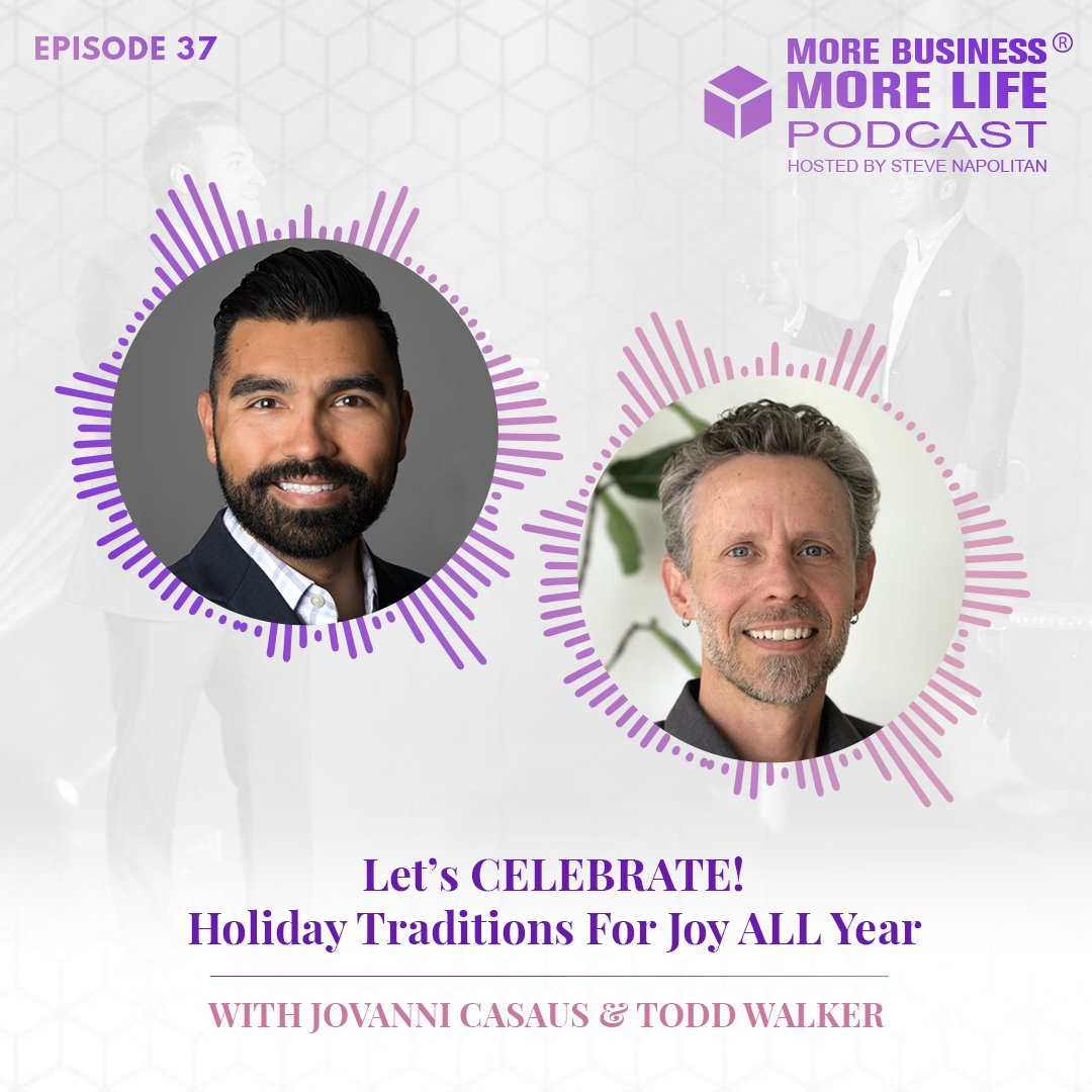 A tough year is coming to a close... which means it's time to CELEBRATE!  Check out this week's podcast for a super-sized dose of holiday cheer - we're dishing up our favorite traditions & tips on how to create your own meaningful rituals. Listen HERE -->