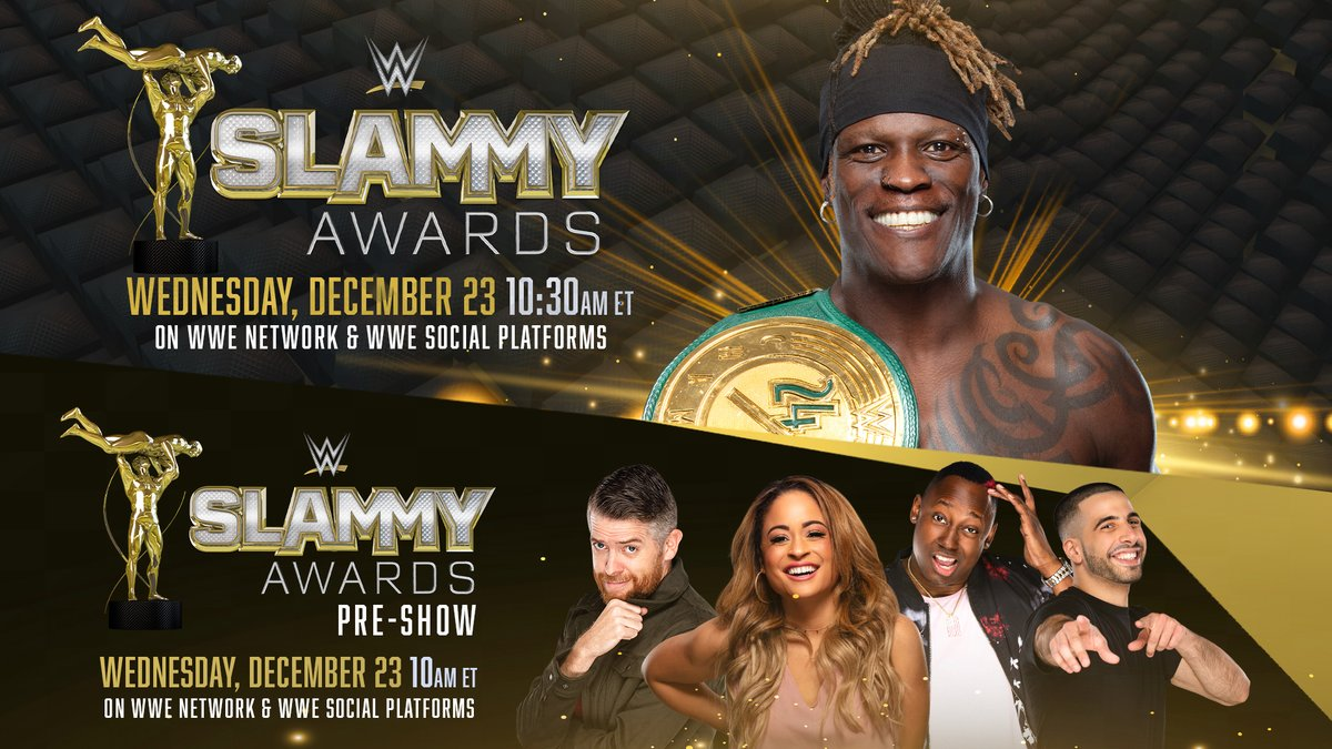 WWE Announces Hall Of Famers And Celebrities As Slammy Award Presenters