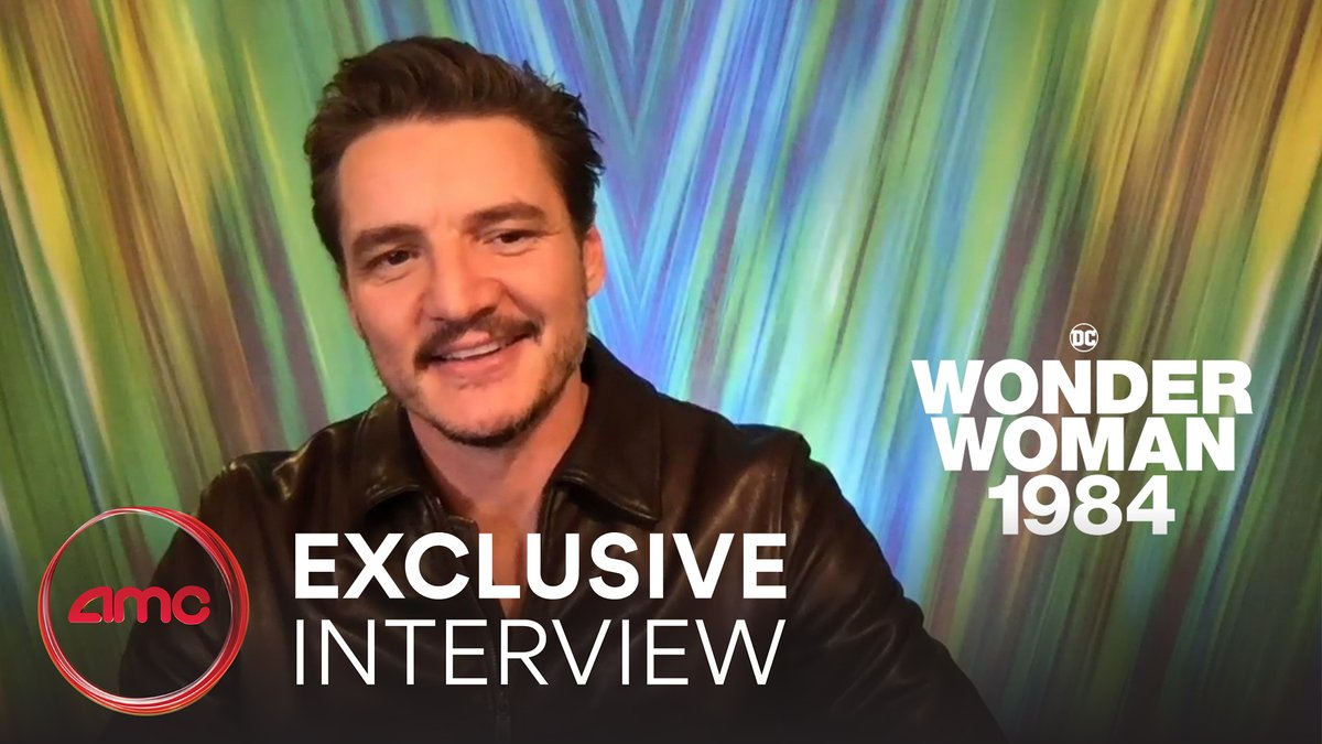 In our exclusive interview with @PedroPascal1, he shares is excitement for you to see #WW84 on the big screen at #AMCTheatres. Get tickets now: