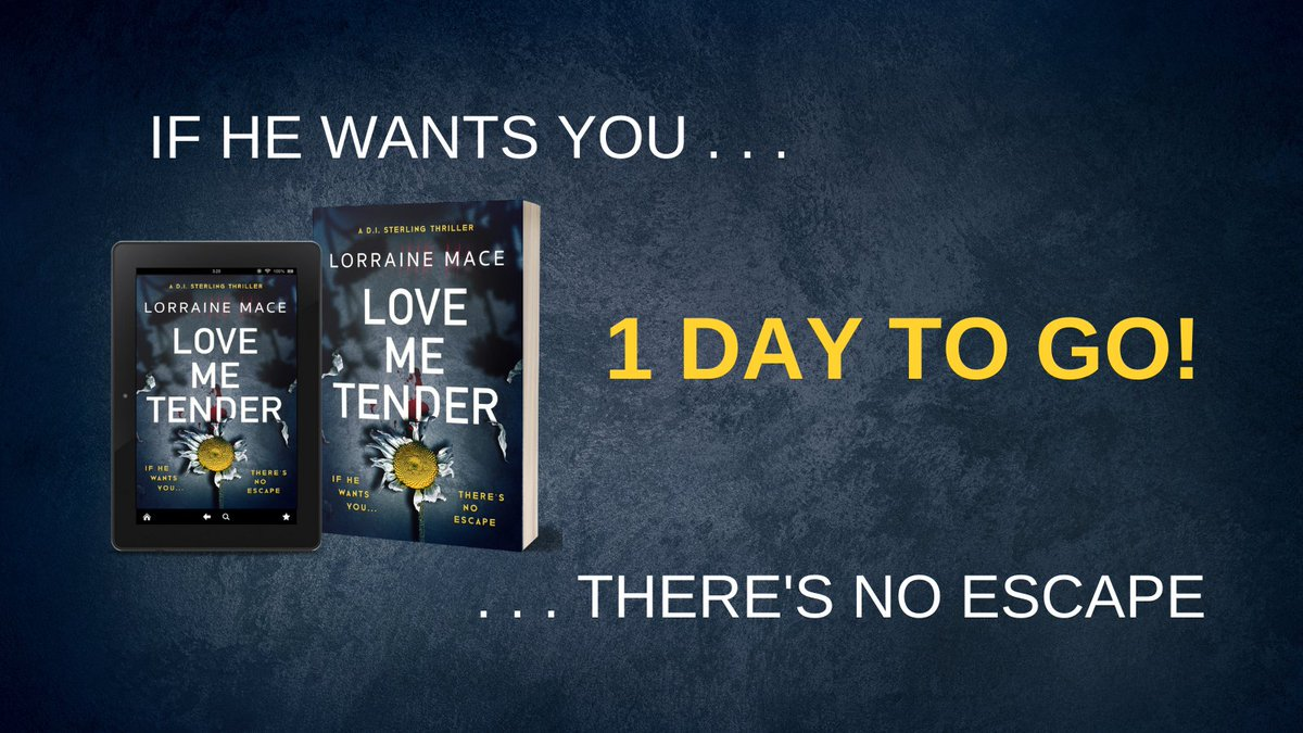 1⃣ DAY TO GO! LOVE ME TENDER is out tomorrow! smarturl.it/LoveMeTender_LM
