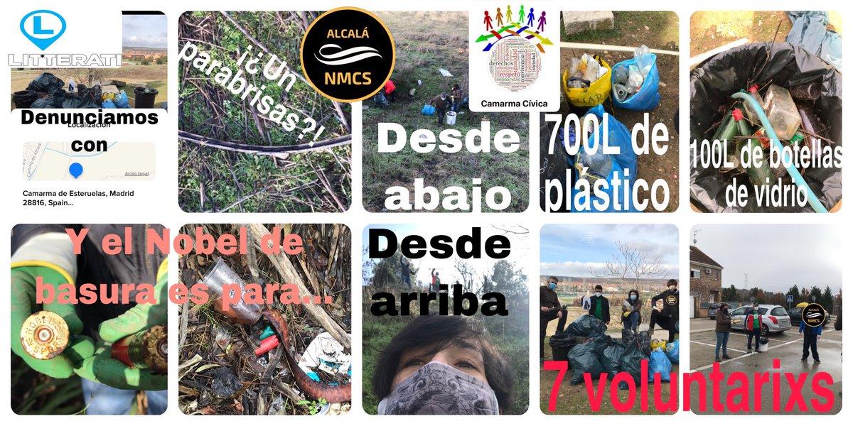 Foto cedida por No Mas Colillas Alcalá