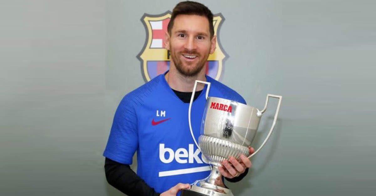 🚨🆕👨🏽💻🗞⚽️⤵️  🏆🏆🏆🏆🏆🏆🏆#PremiosMarca2020  Septième Pichichi: un record d'un autre monde pour Messi  #Messi #messi #laga #Barcelone #Barca