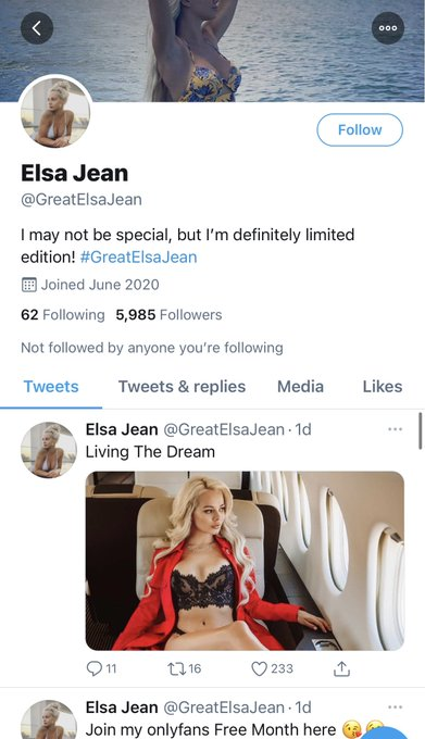 Guys I don't usually ask people to report accounts. But please report @greatelsajean  1st reason to report