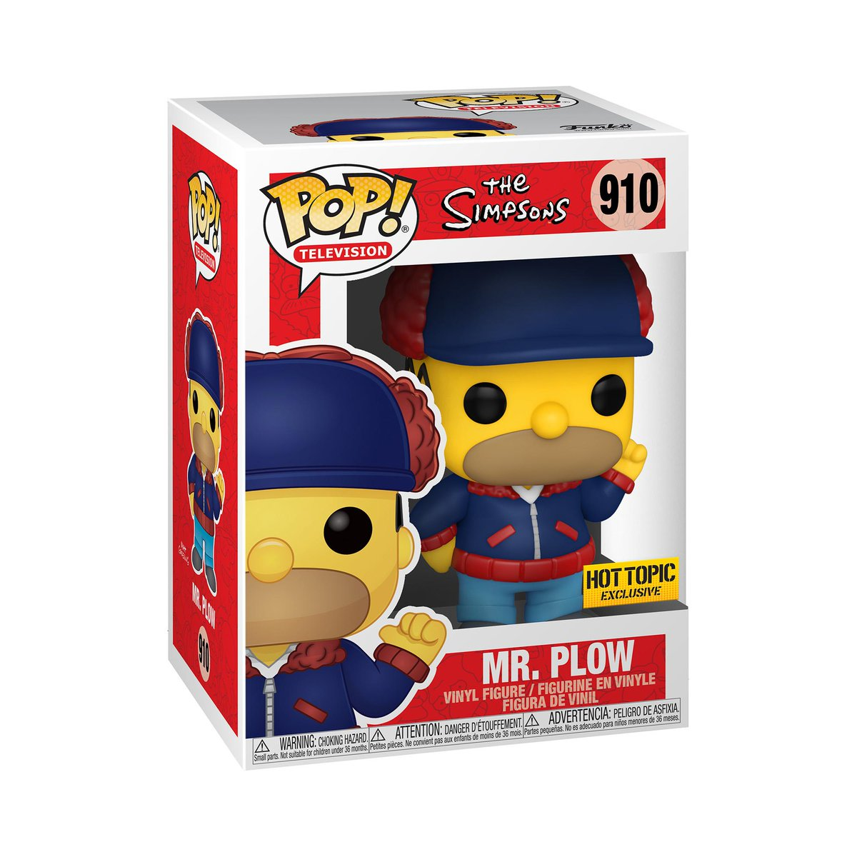 RT & follow @OriginalFunko for the chance to WIN this @HotTopic exclusive Mr. Plow Pop!  #Funko #Funkogiveaway #giveaway #thesimpsons