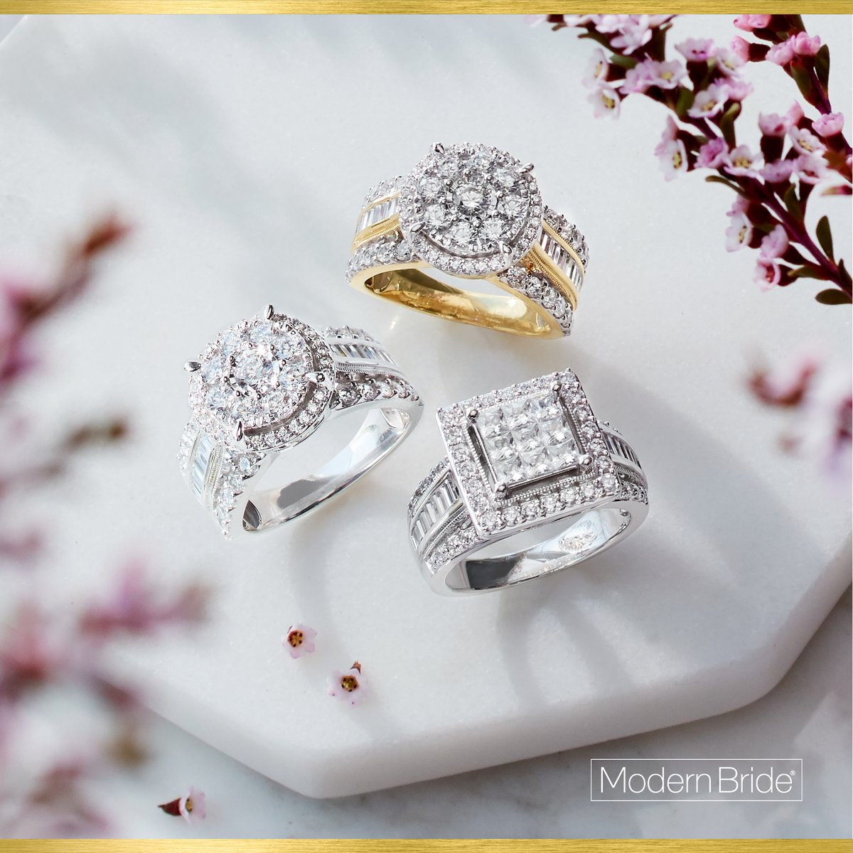 Make her whole year 💍 Win the holidays with something sparkly from Modern Bride 👉