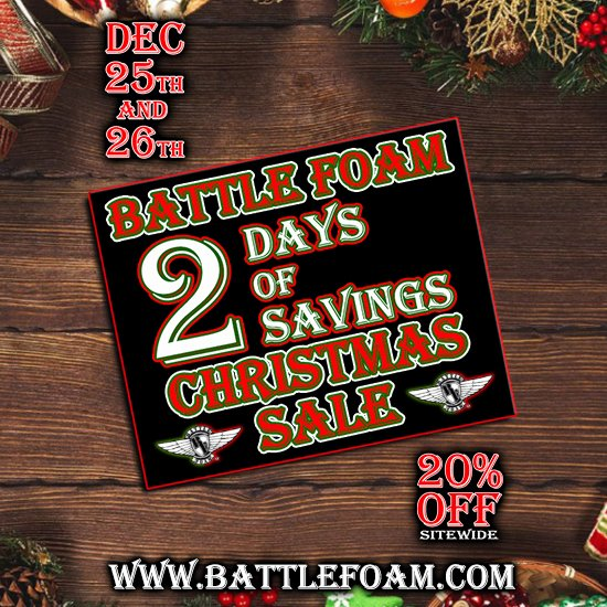Battle Foam Battlefoam Twitter On this page, on the day of the event, you will find products from all our outstanding categories such amazon black friday we're continuing the season of savings and dropping black friday deals every day through the 27th, so customers can continue. battle foam battlefoam twitter
