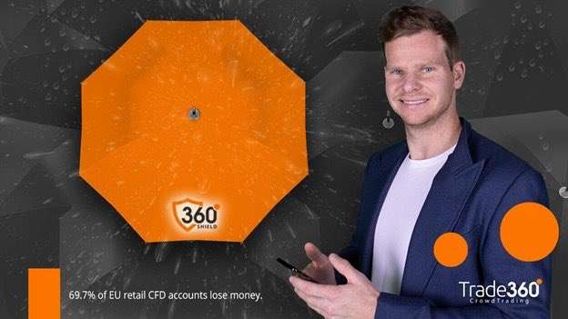 Facing fast bowling can be tough. I could use a shield sometimes… Luckily, trading is different, thanks to Shield360 - a revolutionary solution that works just like an umbrella when the market is going south. You should Try it! @Trade360_LTD #trading #investing #shield #staysafe