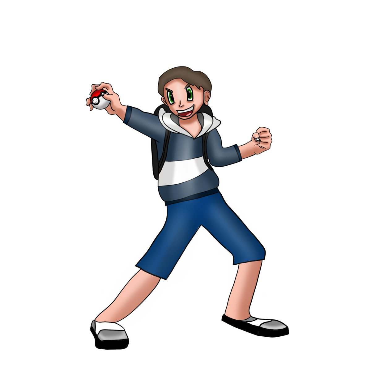 Starting up stream now with the new and improved trainer design made by @KaylaGraphics. Thank you so much for the time and effort you made creating this. Ready for VGC action: