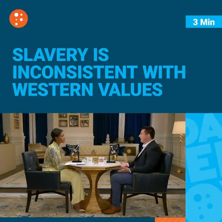 Image for the Tweet beginning: Slavery ended BECAUSE of Western