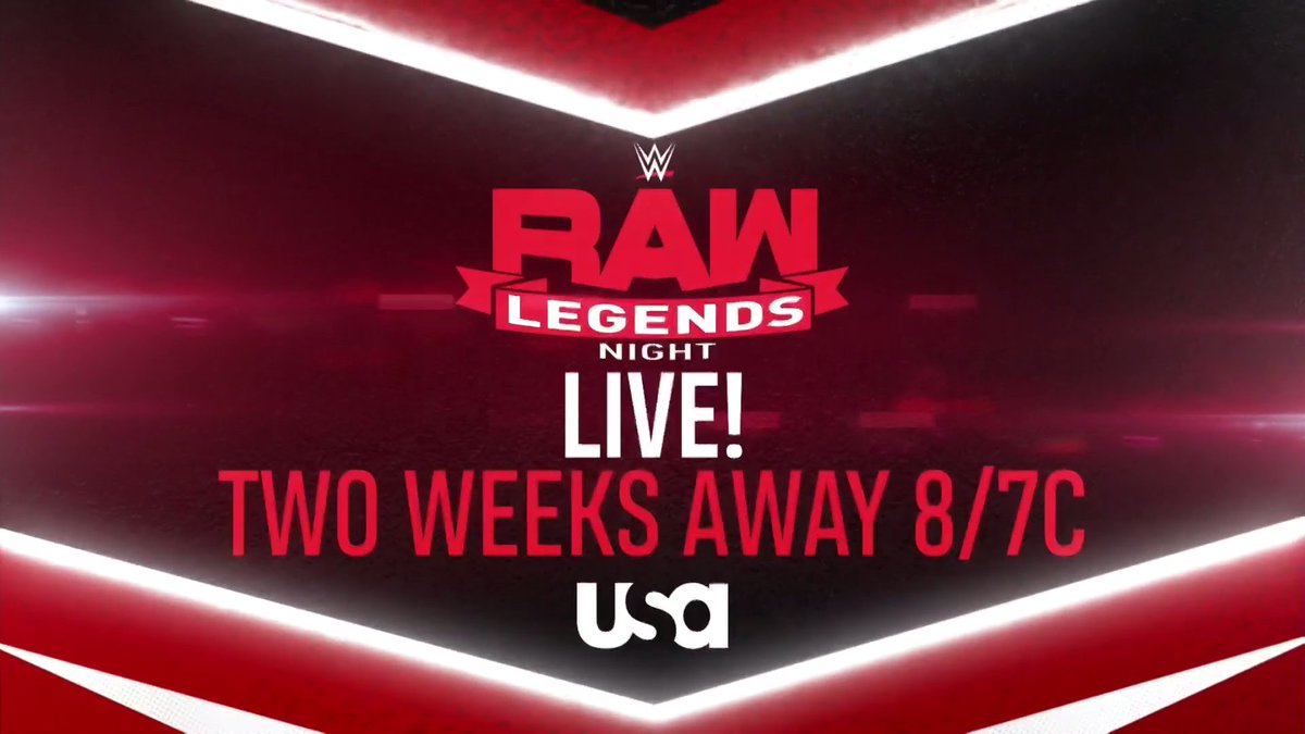 WWE Advertising More Than 20 Stars For RAW Legends Night