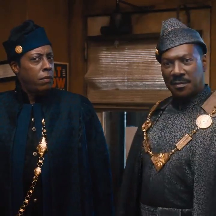 Did you think we wouldn't give you at least a LITTLE taste of the trailer after all that? #Coming2America arrives on March 5.