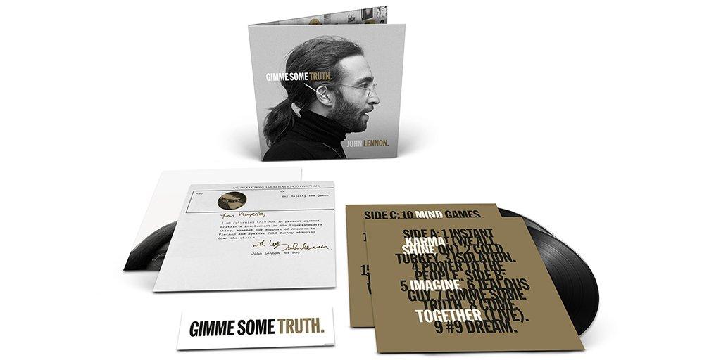 Replying to @johnlennon: Win a copy of John Lennon's GIMME SOME TRUTH. album on 2LP gatefold vinyl! →