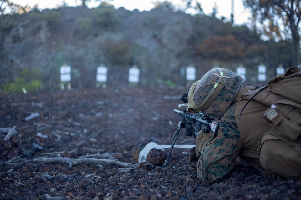 U.S. Marines • Live-Fire and Maneuver Training • Hawaii