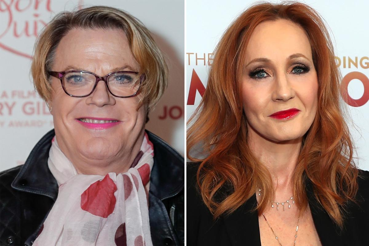 Eddie Izzard says she doesn't think J.K. Rowling is 'transphobic' https://t.co/5KxhQMqvFr https://t.co/hr51iZxhmR