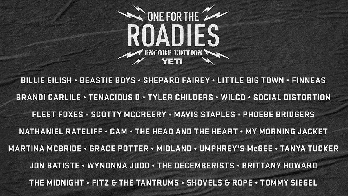 If you like live music and helping out backstage heroes, place a bid on artist-designed custom coolers before the gig's up. Click here to support the cause:  #OneForTheRoadies