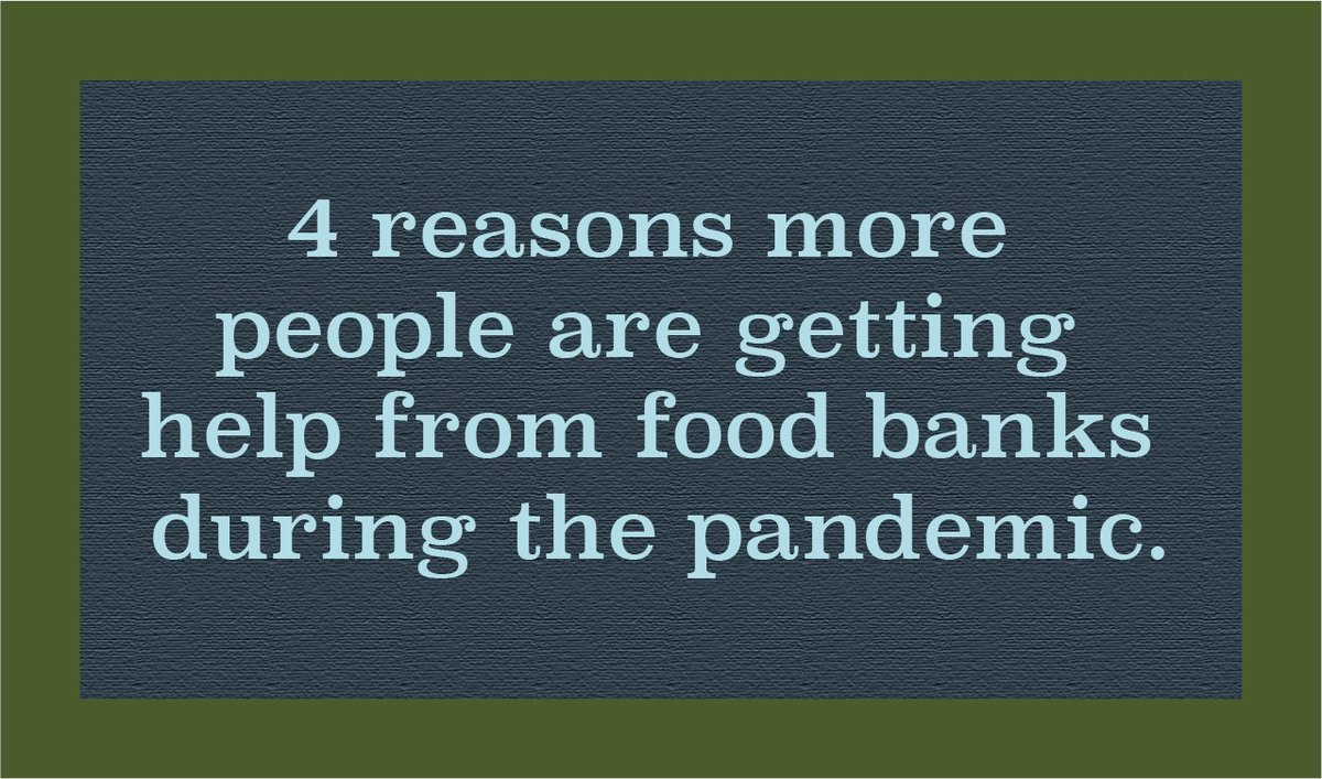 Here's what you need to know about why the pandemic has led more people to seek help from food banks, and how can you help families facing hunger across America.